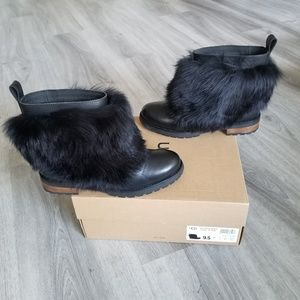 Shoes - UGG Otelia Water-resistant Leather/sheepskin Boot